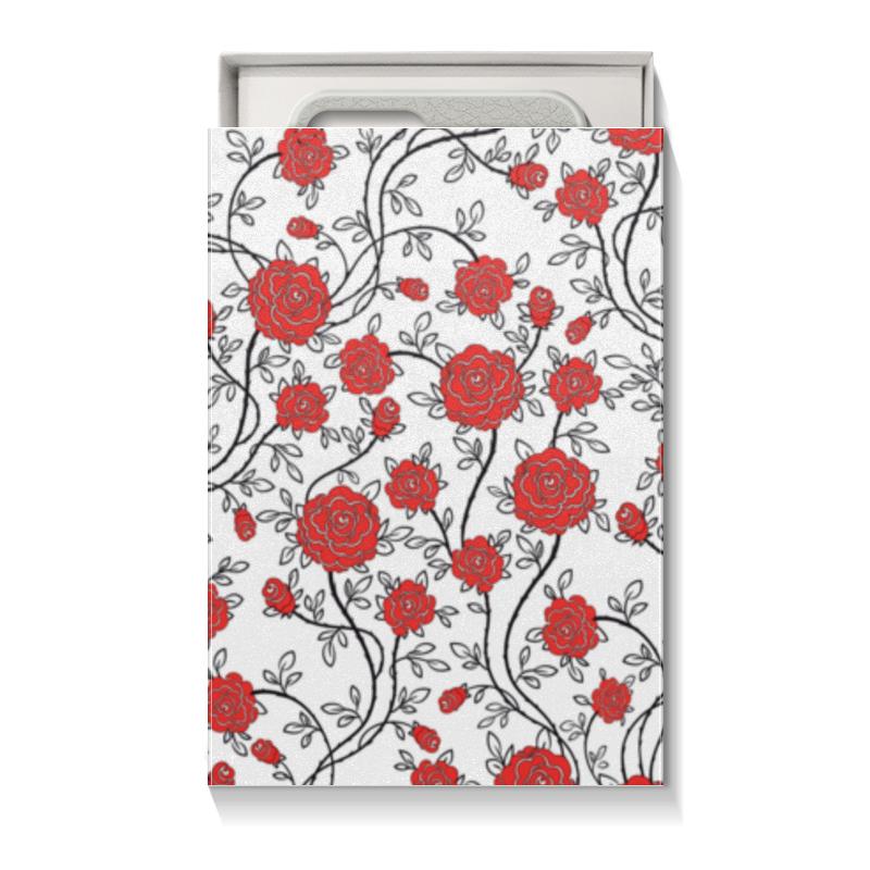 Коробка для чехлов Printio Красные розы коробка для чехлов printio подарок