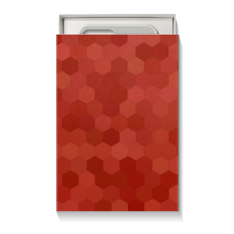 Коробка для чехлов Printio Красная абстракция коробка для футболок printio красная абстракция