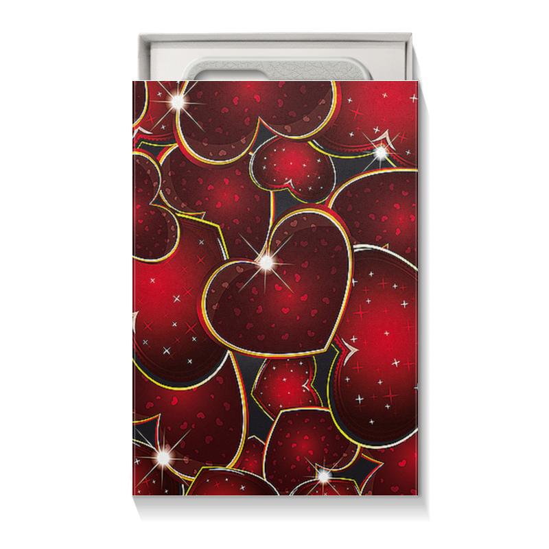 Коробка для чехлов Printio Яркое сердце чехол для ноутбука 14 printio красное и голубое сердце танграм
