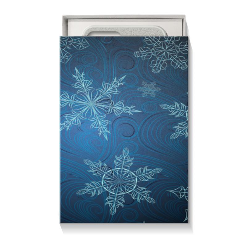 Коробка для чехлов Printio Снежинки костюм маленькой снежинки 32