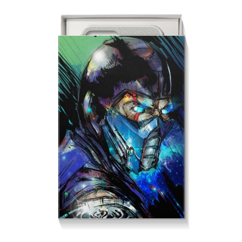 Коробка для чехлов Printio Mortal kombat x (sub-zero) цена