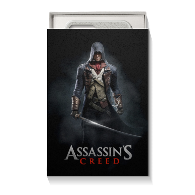 Коробка для чехлов Printio Assassins creed (unity arno)