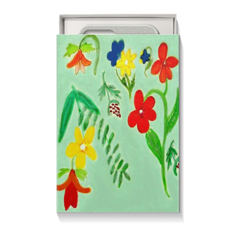 Коробка для чехлов Printio Подарочная летние цветы printio подарочная коробка куб