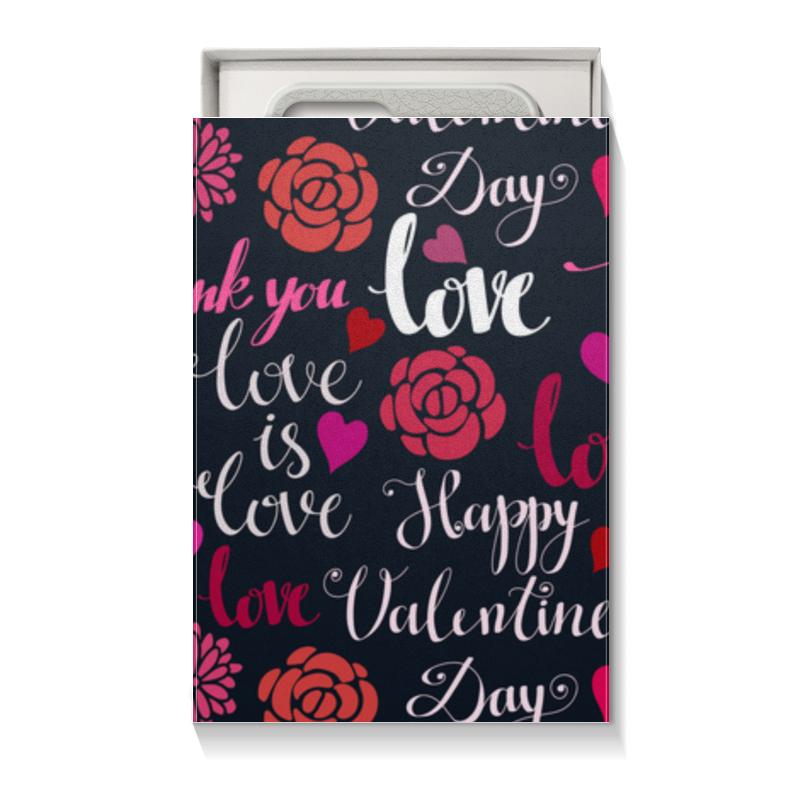 Коробка для чехлов Printio День св. валентина коробка для чехлов printio вальс любви