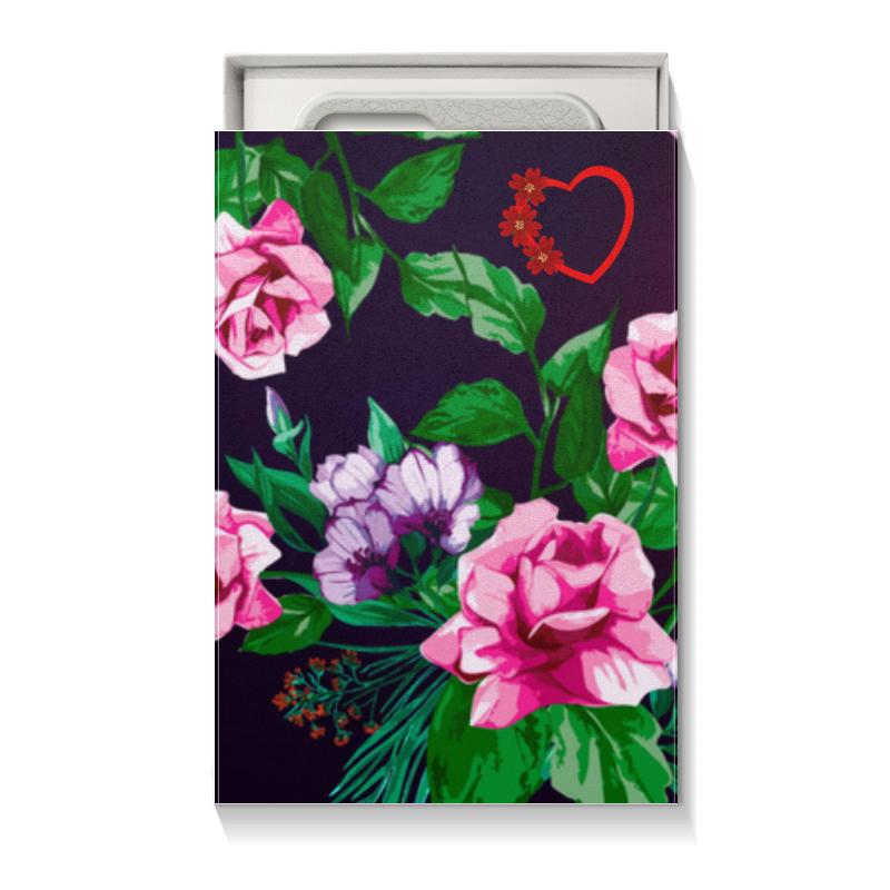 Коробка для чехлов Printio Цветы коробка для чехлов printio подарочная летние цветы