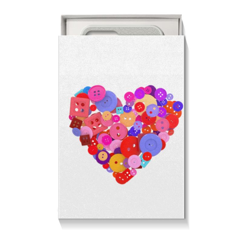 Коробка для чехлов Printio День всех влюбленных коробка для чехлов printio подарок