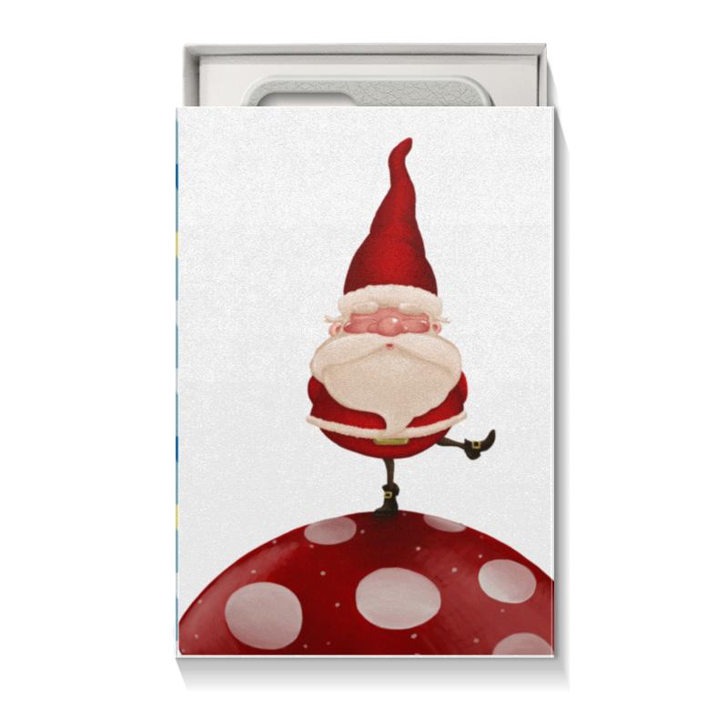 Коробка для чехлов Printio Санта коробка для чехлов printio подарок