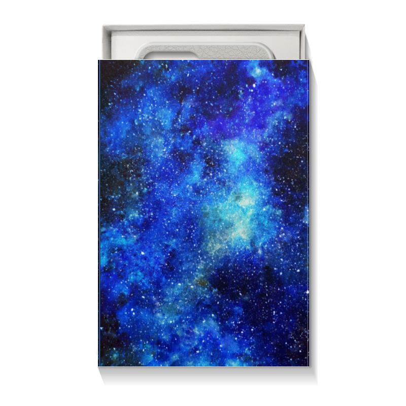 Коробка для чехлов Printio Космос (синий) худи print bar быть еленой просто космос