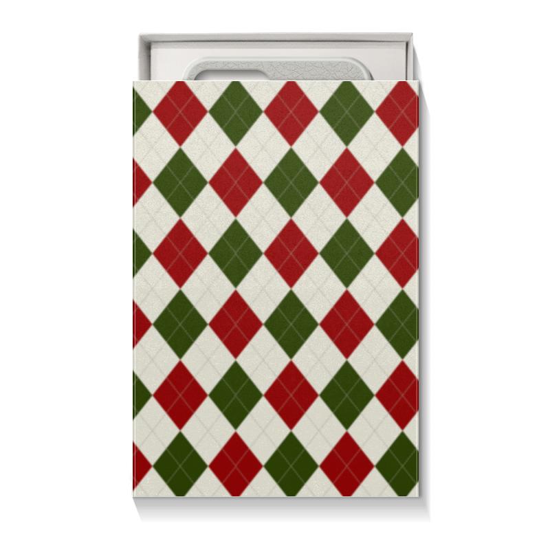 Коробка для чехлов Printio Рождественский узор коробка для кружек printio рождественский узор