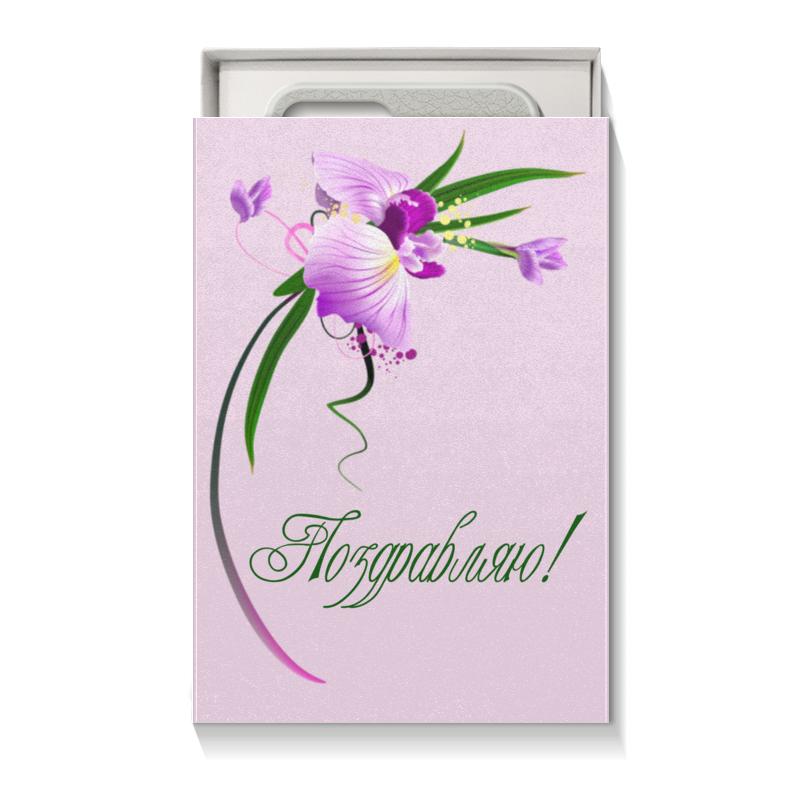 Коробка для чехлов Printio Орхидея для телефона подарочная коробка малая пенал printio цвета морской волны