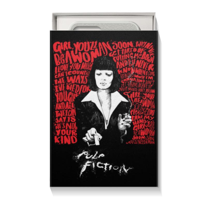 Коробка для чехлов Printio Pulp fiction (ума турман)