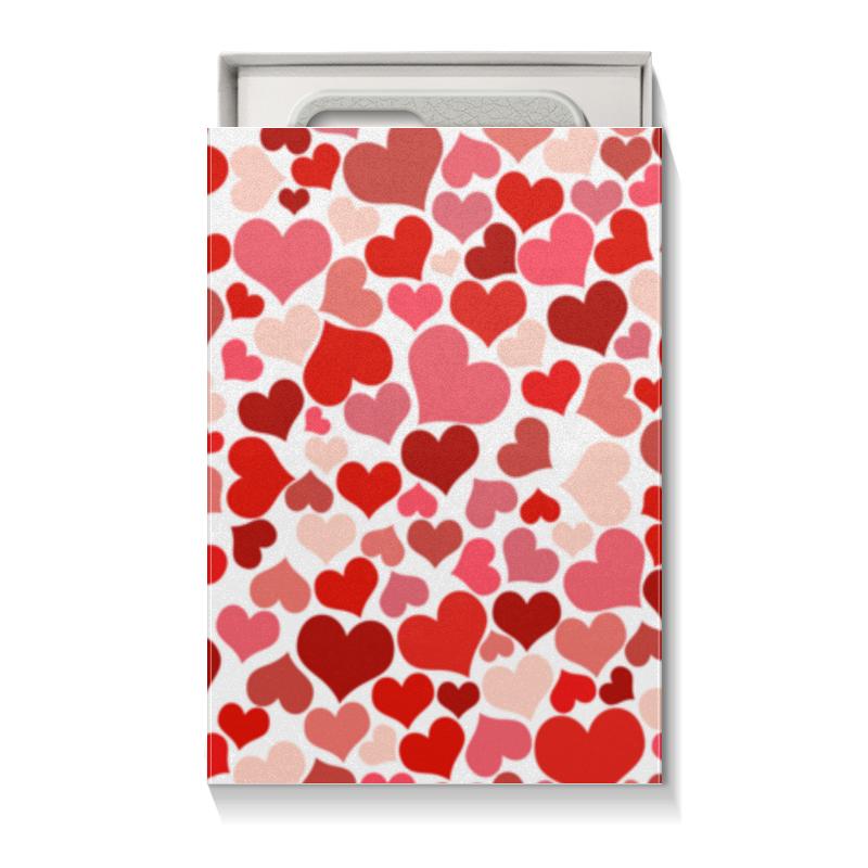 Коробка для чехлов Printio Сердечки коробка для чехлов printio подарок