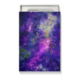 """Коробка для чехлов """"Космос (фиолетовый)"""" - космос, космический арт, stars, nebula, space"""