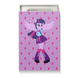"""Подарочная коробка малая (пенал) """"Искорка (Девочки Эквестрии)"""" - мультфильм, мой маленький пони, искорка, equestria girls, девочки эквестрии"""