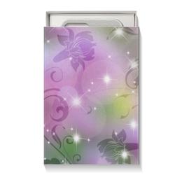 """Подарочная коробка малая (пенал) """"Лилия"""" - цветок, лилия"""