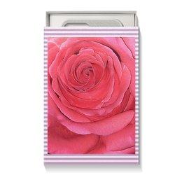 """Коробка для чехлов """"Нежность."""" - цветы, цветок, роза, розы, розовая роза"""
