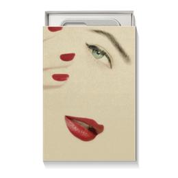 """Коробка для чехлов """"Девушке"""" - девушка, день святого валентина, 8 марта, подарок, минимализм"""