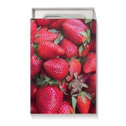 """Коробка для чехлов """"Лето!"""" - лето, ягоды, клубника, закат, большой океан"""