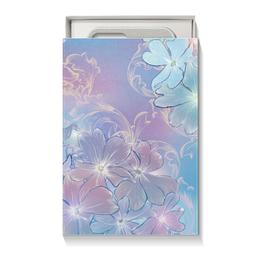 """Подарочная коробка малая (пенал) """"Нежные цветы"""" - цветы"""