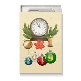 """Коробка для чехлов """"Новый год"""" - новый год, ель, шар"""