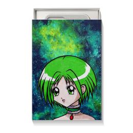 """Коробка для чехлов """"Space Anime Girl"""" - аниме, космос, anime girl, tokyo mew mew, токио мяу мяу"""