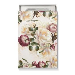 """Подарочная коробка малая (пенал) """"Розовые розы"""" - цветы, розы"""