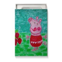"""Коробка для чехлов """"Свинка"""" - новый год, счастье, поздравление, свинка, 2019"""