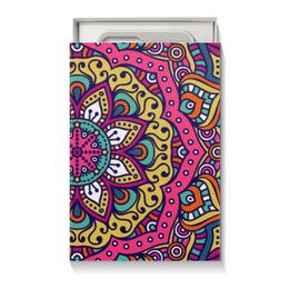 "Коробка для чехлов ""Мандала"" - мандала, символы, абстрактный, узор, орнамент"