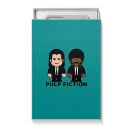 """Коробка для чехлов """"Pulp Fiction"""" - культовое кино, сэмюэл лерой джексон, джон траволта, тарантино, криминальное чтиво"""