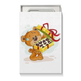"""Коробка для чехлов """"Мишка Тэдди"""" - конфеты, игрушка, праздничный, подарочный, мишка тэдди"""