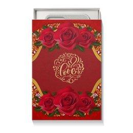 """Коробка для чехлов """"День Св. Валентина"""" - любовь, цветы, розы, валентинка, день св валентина"""