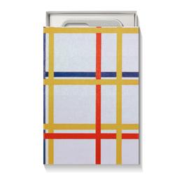 "Коробка для чехлов ""Нью-Йорк 1 (Питер Мондриан)"" - картина, живопись, мондриан"