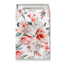 """Коробка для чехлов """"Цветы"""" - цветы"""