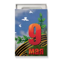 """Подарочная коробка малая (пенал) """"9 мая"""" - 9 мая, день победы"""