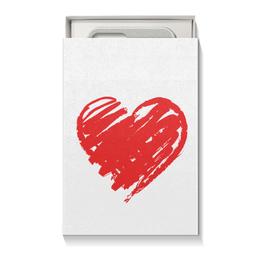 """Подарочная коробка малая (пенал) """"Парная на 14 февраля"""" - парные, 14фев"""