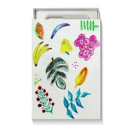 """Коробка для чехлов """"Фрукты"""" - лето, цветы, фрукты, ярко"""