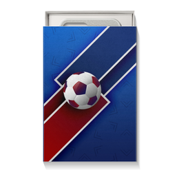 """Коробка для чехлов """"Футбол"""" - футбол, спорт, россия, мяч"""