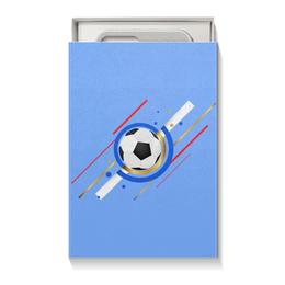 """Коробка для чехлов """"Футбол"""" - футбол, спорт, мяч"""