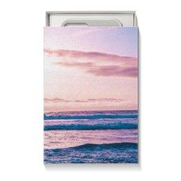 """Коробка для чехлов """"Summer time!"""" - лето, море, подарок, что подарить, подарочная упаковка"""