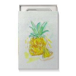 """Коробка для чехлов """"Ананас"""" - лето, ананас, вкусно, фрукт"""