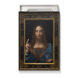 """Коробка для чехлов """"Спаситель мира Леонардо да Винчи"""" - арт, картина, живопись, леонардо да винчи, спаситель мира"""