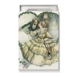 """Коробка для чехлов """"День Святого Валентина"""" - арт, настроение, винтаж, 14фев, harrison fisher"""