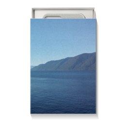 """Коробка для чехлов """"Удивительный Алтай (вариант 1)"""" - природа, lake, горный алтай, телецкое озеро, sumer"""