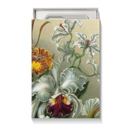 """Коробка для чехлов """"Орхидеи Эрнста Геккеля"""" - цветы, 8 марта, подарок, орхидея, эрнст геккель"""