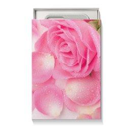"""Коробка для чехлов """"Капли на лепестках розы"""" - день матери, 8 марта, капли, цветы, розы"""