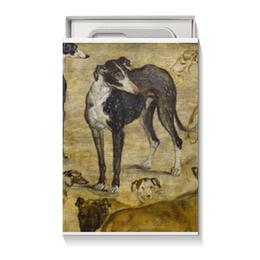 """Коробка для чехлов """"""""Штудия собак"""" Яна Брейгеля Старшего"""" - новый год, картина, собака, живопись"""
