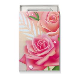 """Подарочная коробка малая (пенал) """"Розочки"""" - цветы, розы"""