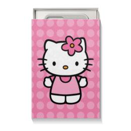 """Подарочная коробка малая (пенал) """"Kitty в горошек"""" - для детей, hello kitty, мультик, мультфильм, привет китти"""