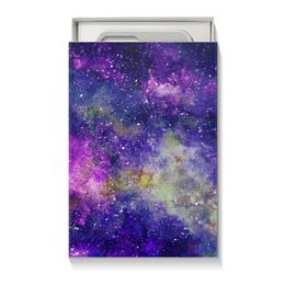 """Подарочная коробка малая (пенал) """"Космос (фиолетовый)"""" - space, звезды, stars, космос, galaxy"""