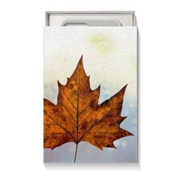 "Коробка для чехлов ""Осень"" - осень, подарок, сюрприз, золотая осень, подарочная упаковка"